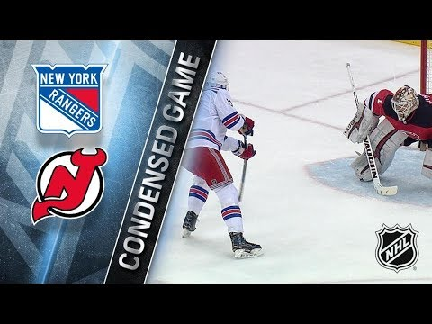 New York Rangers vs New Jersey Devils – Apr. 03, 2018 | Game Highlights | NHL 2017/18. Обзор