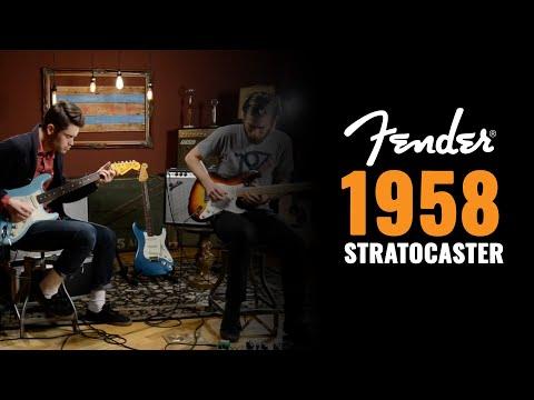1958 Fender Stratocaster & Fender Custom Shop '59 Stratocasters | Guitar Demo