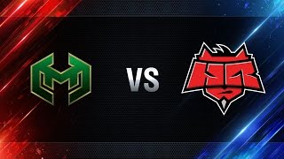 Carpe Diem vs HellRaisers - day 2 week 8 Season I Gold Series WGL RU 2016/17