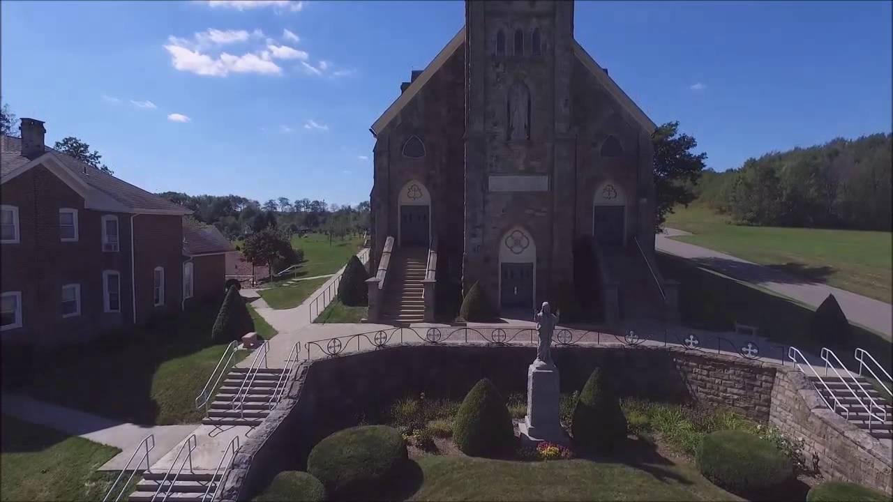 St Michaels Church Fryburg Pennsylvania Drone Guys