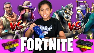 Fortnite Beyblade Burst Battle! Season 6 Skins Beyblades Tournament! !