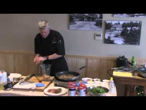 White Point's Chef Allan-Cooking Class.  Video Footage provided by Innovative in New Minas.