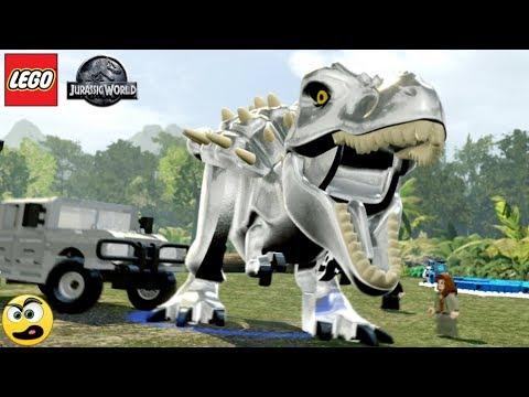LEGO Jurassic World - Tiranossauro Rex do Filme TRANSFORMERS |