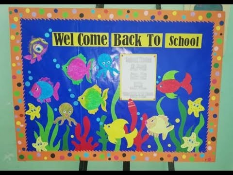 Amazing Display Decoration Ideas For School School Decoration Ideas