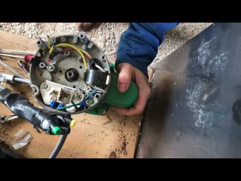 Myers 2.5 HP water pump tear down (Irrigation water pump disassembly for Myers is same as AO Smith)