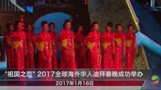 """""""祖国之恋""""2017全球海外华人迪拜春晚成功举办"""