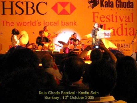 Kalaghoda Art Festival, Kavita Seth, Mast Kalandar.