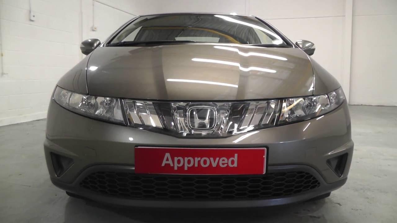 Honda Civic 1 8 Se In Galaxy Grey Metallic Video Walkaround