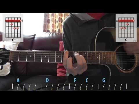 David Bowie - Suffragette City acoustic guitar lesson