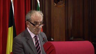 H. Goldberg – Président de la Fondation Auschwitz - 2014-10