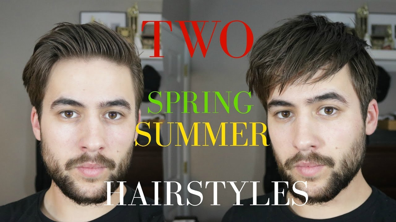 Men S Hair 2017 Spring Summer Hairstyles Men Quick And Easy