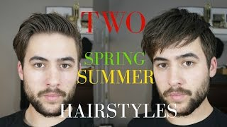 Men's hair 2017 + Spring/Summer Hairstyles Men   Quick and easy hairstyles 2017