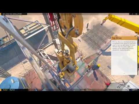 3D Land Drilling Rig