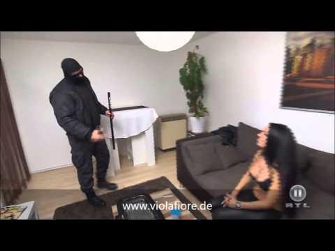Stripperin Viola Fiore Mannheim bei die Super Checker RTL2