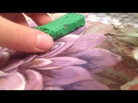 Как сделать водоросли из пластилина