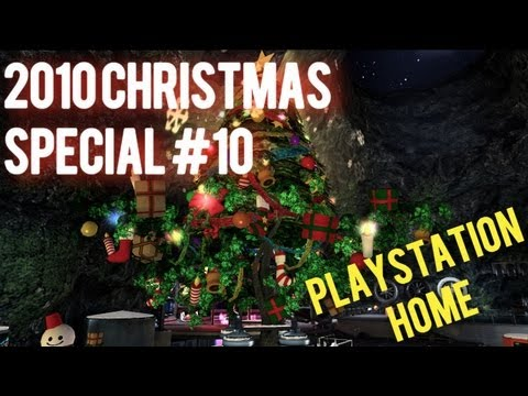 2010 Christmas Video Games #10 - Christmas in Playstation Home (PS3)