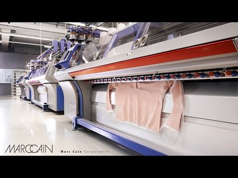 German broadcaster DW reported about high-tech fashion at Marc Cain