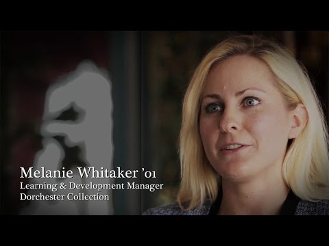 A passion for travel leads to overseas success- Melanie Whitaker's story