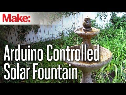 DIY Hacks & How To's: Arduino Controlled Solar Fountain