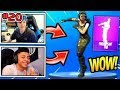 NINJA & MYTH *REACT* TO NEW FREESTYLE DANCE + *FREE* TWITCH LOOT Fortnite Funny Moments & Fails #20