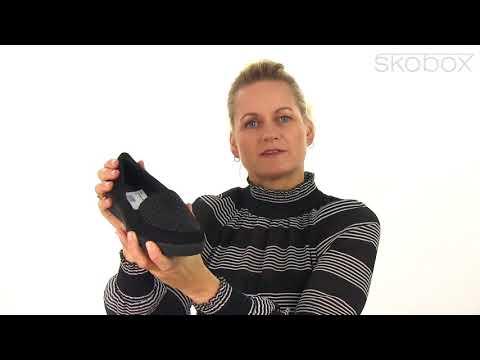 FitFlop™ sko – Sparkly Sneaker Loafer (Sort) item no.: I96-001
