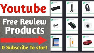 how to get free Review units products to review on youtube in india | Gokano | in hindi