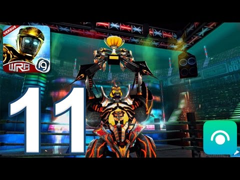 Real Steel World Robot Boxing - Gameplay Walkthrough Part 11 - World Robot Boxing 1 Completed
