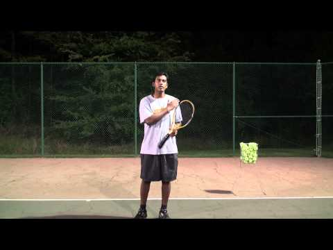 Tennis Volley explained in Tamil