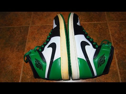 How To Get Rid Of Yellow Midsoles VERY QUICK (Jordan Retro 1 Restoration) Jordans And Nike ETC..