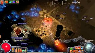 Path of Exile: Vaults of Atziri, Lvl 68 Unique Vaal Pyramid Map