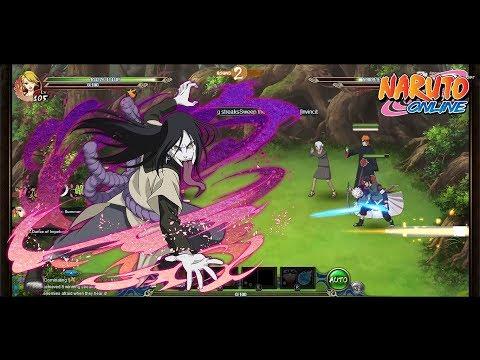 Naruto Online Sage World: Orochimaru Konoha Traitor