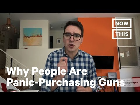 Reform Activist Igor Volksy On People Panic-Purchasing Guns | NowThis