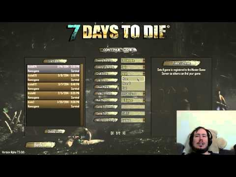 7 Days To Die Game Server Settings Explained Youtube