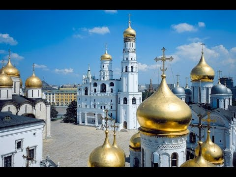 Architectural complex of the Cathedral Square of the Moscow Kremlin