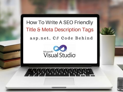 SEO Friendly title and meta description asp.net c# on page_load