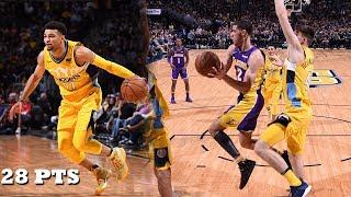 Lonzo Ball VS Jamal Murray INTENSE PG Battle! Lakers vs Nuggets!