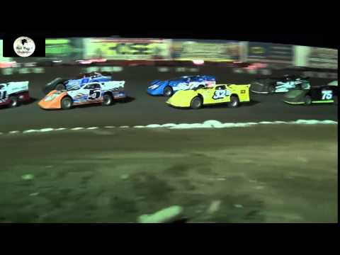 Canyon Speedway Park-West Coast Late Model Main Event Nov 8th 2014