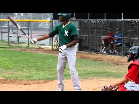 Jordan Norwood Baseball Scouting video 2013