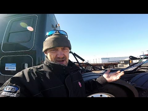 KENWORTH HEAVY -- Episode 18 -- Dealing w/ Cab Cards, PTO hoses, & Truck Washers