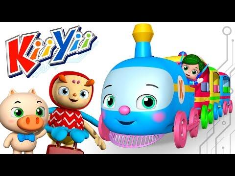 Choo Choo Train | Nursery Rhymes | Original Song By KiiYii!