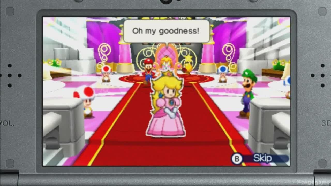 Mario Luigi Paper Jam Treehouse Gameplay E3 2015 Youtube