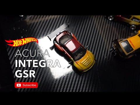 Acura Integra GSR - Custom Hotwheels