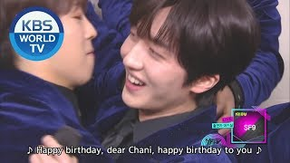Interview with SF9 & Singing Happy Birthday [Music Bank / EN...