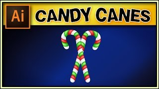 CANDY CANE - very good Adobe Illustrator tutorial