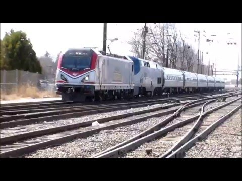 1400th Video!! ACS64 642 and P42 176 lead The Pennsylvanian train 42