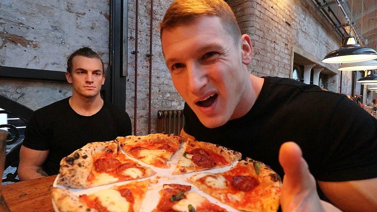 EATING PIZZA ft. JOE DELANEY | Epic Bodybuilding