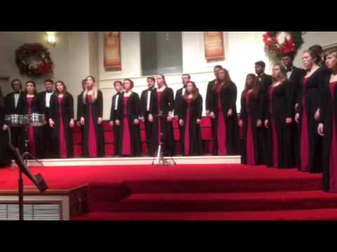 Millikin University Choir - Lord Make Us Instruments Of Your Peace