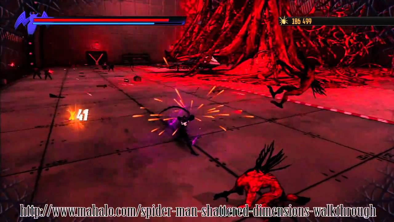 spiderman shattered dimensions walkthrough level 12