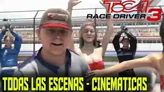 Toca Race Driver 3 - Todas las escenas - Cinematicas - 2006 - Codemasters -