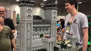 Matt's playtime.  Brick Fair Lego Fan Expo
